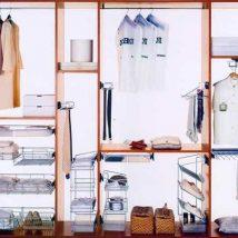Diy Wardrobe Organizers 5 214x214 - Fabulous DIY Wardrobe Organizers Ideas
