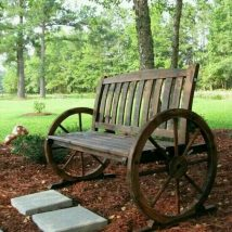 Farmhouse Garden Benches 1 214x214 - Wonderful Farmhouse Garden Benches Ideas