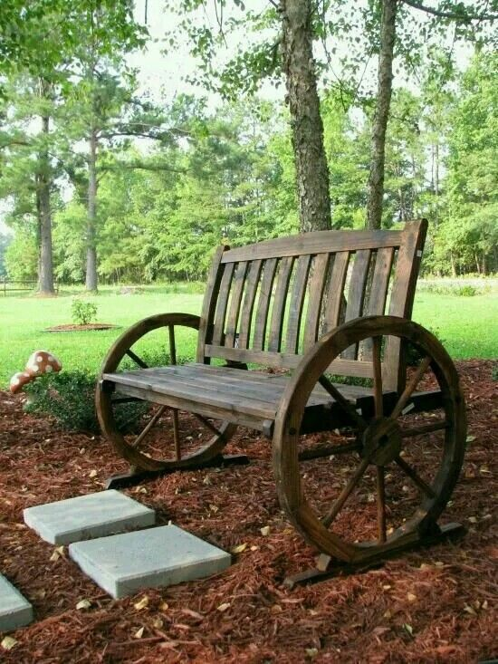 Farmhouse Garden Benches 1 - Wonderful Farmhouse Garden Benches Ideas