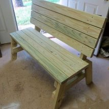 Farmhouse Garden Benches 10 214x214 - Wonderful Farmhouse Garden Benches Ideas