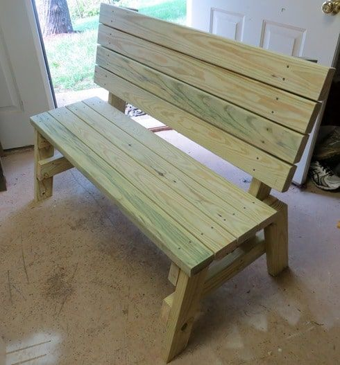 Farmhouse Garden Benches 10 - Wonderful Farmhouse Garden Benches Ideas