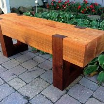 Farmhouse Garden Benches 11 214x214 - Wonderful Farmhouse Garden Benches Ideas