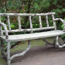 Farmhouse Garden Benches 19 214x214 - Wonderful Farmhouse Garden Benches Ideas