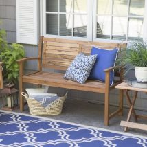 Farmhouse Garden Benches 20 214x214 - Wonderful Farmhouse Garden Benches Ideas