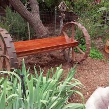 Farmhouse Garden Benches 24 214x214 - Wonderful Farmhouse Garden Benches Ideas