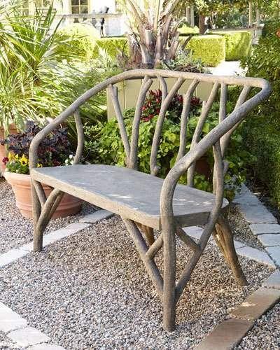 Farmhouse Garden Benches 25 - Wonderful Farmhouse Garden Benches Ideas