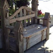 Farmhouse Garden Benches 26 214x214 - Wonderful Farmhouse Garden Benches Ideas