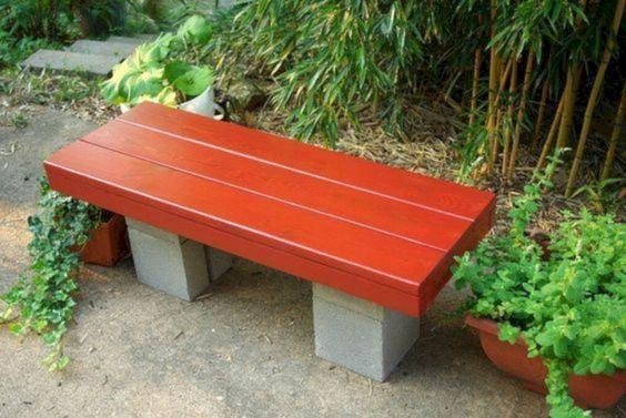Farmhouse Garden Benches 28 - Wonderful Farmhouse Garden Benches Ideas