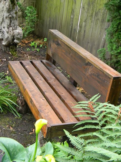 Farmhouse Garden Benches 32 - Wonderful Farmhouse Garden Benches Ideas