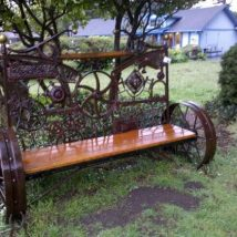 Farmhouse Garden Benches 33 214x214 - Wonderful Farmhouse Garden Benches Ideas