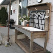Farmhouse Garden Benches 4 214x214 - Wonderful Farmhouse Garden Benches Ideas
