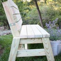 Farmhouse Garden Benches 40 214x214 - Wonderful Farmhouse Garden Benches Ideas