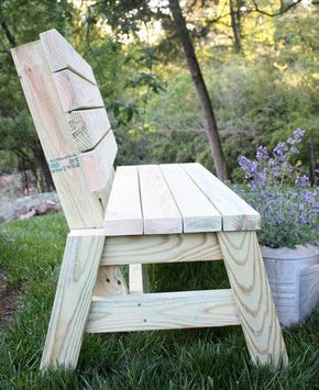 Farmhouse Garden Benches 40 - Wonderful Farmhouse Garden Benches Ideas