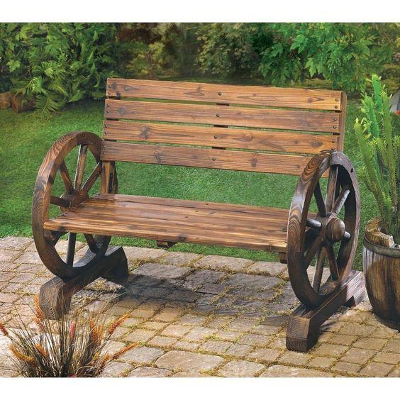 Farmhouse Garden Benches 42 - Wonderful Farmhouse Garden Benches Ideas