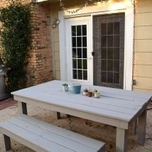 Farmhouse Garden Benches 47 214x214 - Wonderful Farmhouse Garden Benches Ideas