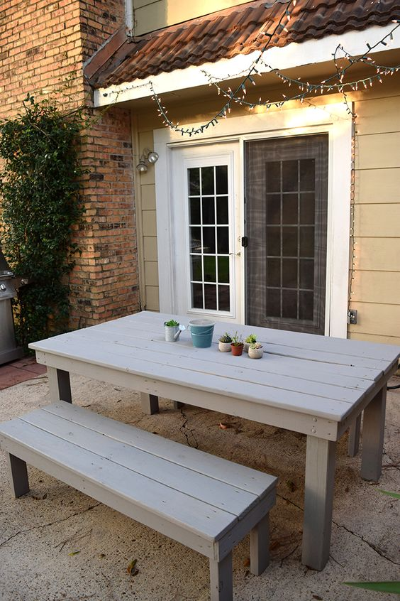 Farmhouse Garden Benches 47 - Wonderful Farmhouse Garden Benches Ideas
