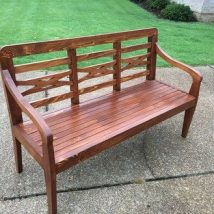 Farmhouse Garden Benches 5 214x214 - Wonderful Farmhouse Garden Benches Ideas