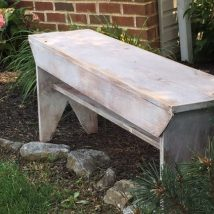 Farmhouse Garden Benches 6 214x214 - Wonderful Farmhouse Garden Benches Ideas