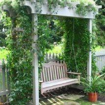 Farmhouse Garden Benches 7 214x214 - Wonderful Farmhouse Garden Benches Ideas