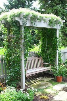 Farmhouse Garden Benches 7 - Wonderful Farmhouse Garden Benches Ideas