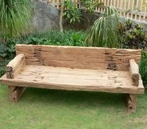 Farmhouse Garden Benches 9 214x188 - Wonderful Farmhouse Garden Benches Ideas