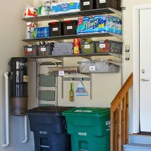 Garage Makeover Projects 13 214x214 - Amazing Garage Makeover Projects Ideas