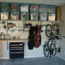 Garage Makeover Projects 14 214x214 - Amazing Garage Makeover Projects Ideas