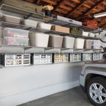 Garage Makeover Projects 15 214x214 - Amazing Garage Makeover Projects Ideas