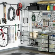 Garage Makeover Projects 28 214x214 - Amazing Garage Makeover Projects Ideas
