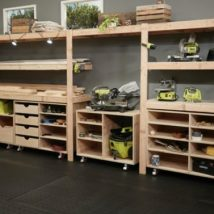 Garage Makeover Projects 39 214x214 - Amazing Garage Makeover Projects Ideas