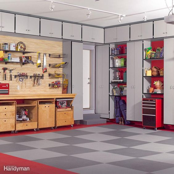 Garage Makeover Projects 40 - Amazing Garage Makeover Projects Ideas