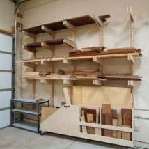 Garage Makeover Projects 49 214x214 - Amazing Garage Makeover Projects Ideas