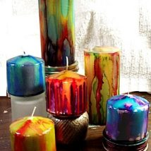 Homemade Candles 15 214x214 - Stunning Homemade Candles Ideas