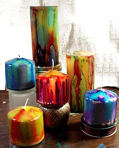 Homemade Candles 15 - Stunning Homemade Candles Ideas