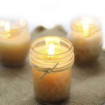 Homemade Candles 16 214x214 - Stunning Homemade Candles Ideas