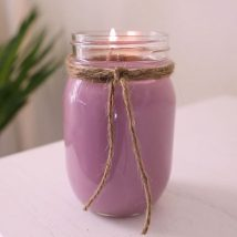 Homemade Candles 2 214x214 - Stunning Homemade Candles Ideas