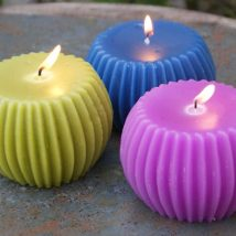 Homemade Candles 20 214x214 - Stunning Homemade Candles Ideas