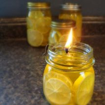 Homemade Candles 22 214x214 - Stunning Homemade Candles Ideas