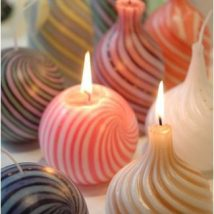 Homemade Candles 23 214x214 - Stunning Homemade Candles Ideas