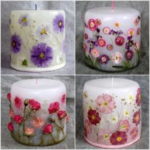 Homemade Candles 27 214x214 - Stunning Homemade Candles Ideas
