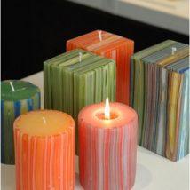Homemade Candles 29 214x214 - Stunning Homemade Candles Ideas