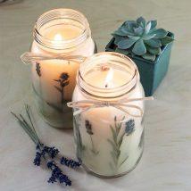 Homemade Candles 36 214x214 - Stunning Homemade Candles Ideas