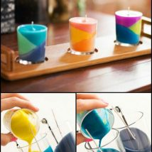 Homemade Candles 38 214x214 - Stunning Homemade Candles Ideas