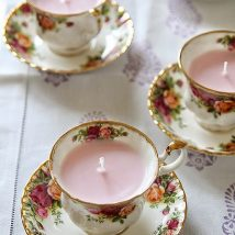 Homemade Candles 39 214x214 - Stunning Homemade Candles Ideas