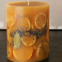 Homemade Candles 4 214x214 - Stunning Homemade Candles Ideas