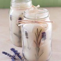 Homemade Candles 44 214x214 - Stunning Homemade Candles Ideas