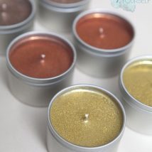 Homemade Candles 7 214x214 - Stunning Homemade Candles Ideas