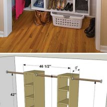 Kids Clothes Storage 14 214x214 - Wonderful Kids Clothes Storage Ideas