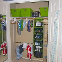 Kids Clothes Storage 16 214x214 - Wonderful Kids Clothes Storage Ideas