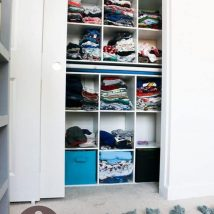 Kids Clothes Storage 17 214x214 - Wonderful Kids Clothes Storage Ideas